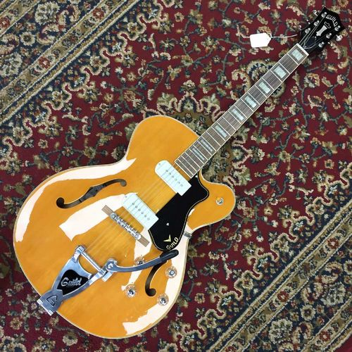 Guild X-175B Manhattan w/ Bigsby Blonde with Case 3795005801